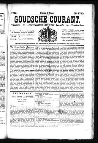 Goudsche Courant 1892-03-01