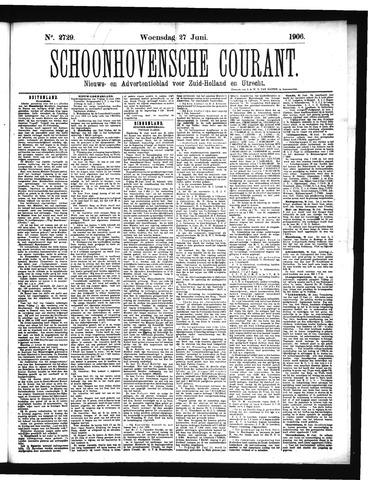 Schoonhovensche Courant 1906-06-27