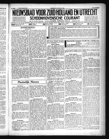 Schoonhovensche Courant 1935-08-28