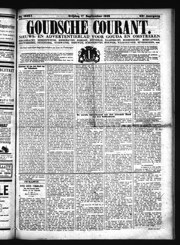 Goudsche Courant 1926-09-17
