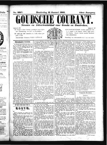 Goudsche Courant 1905-01-12