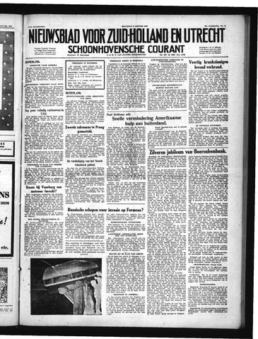 Schoonhovensche Courant 1950-01-09