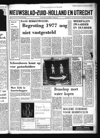 Schoonhovensche Courant 1977-01-26
