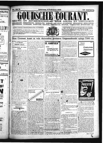 Goudsche Courant 1935-02-09