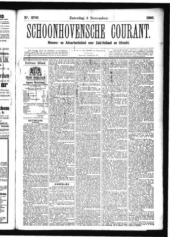 Schoonhovensche Courant 1906-11-03