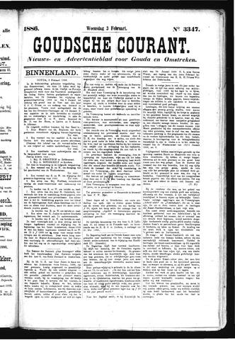 Goudsche Courant 1886-02-03
