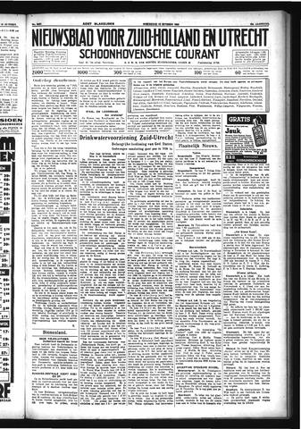 Schoonhovensche Courant 1933-10-18
