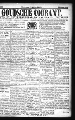 Goudsche Courant 1922-01-25