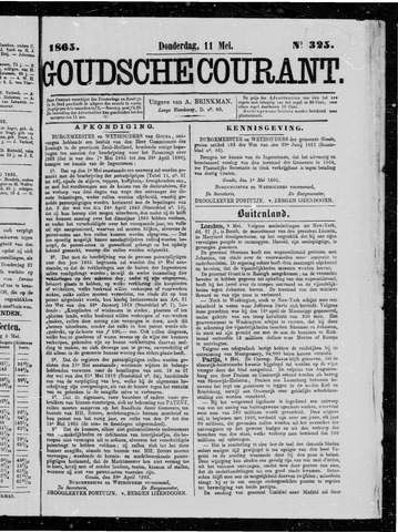 Goudsche Courant 1865-05-11