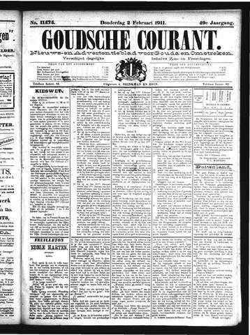 Goudsche Courant 1911-02-02