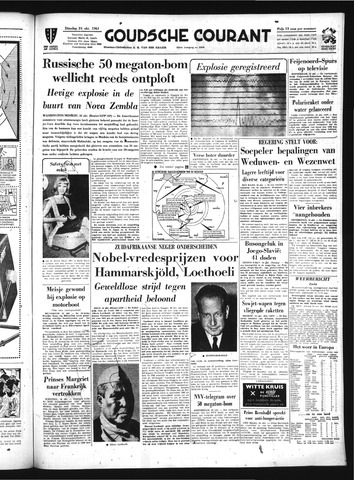 Goudsche Courant 1961-10-24