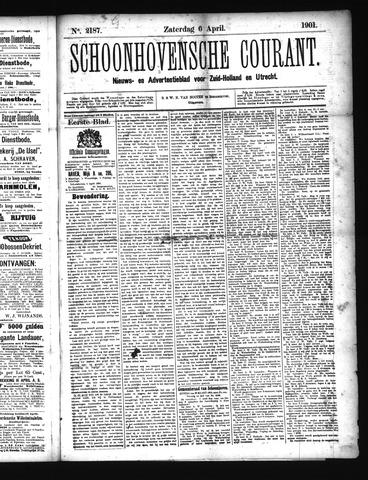 Schoonhovensche Courant 1901-04-06