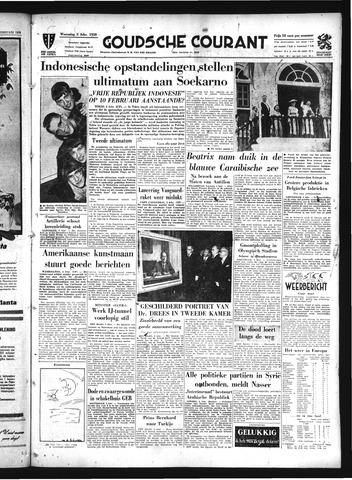 Goudsche Courant 1958-02-05