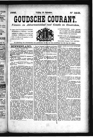 Goudsche Courant 1886-09-10