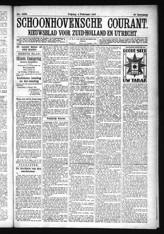 Schoonhovensche Courant 1927-02-04