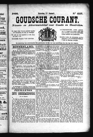 Goudsche Courant 1890-01-11