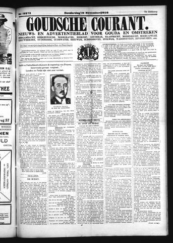 Goudsche Courant 1936-11-19