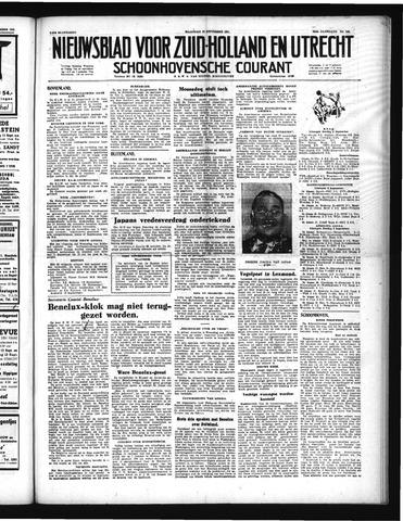Schoonhovensche Courant 1951-09-10