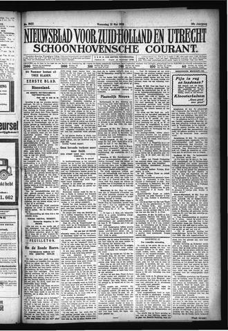 Schoonhovensche Courant 1928-05-30