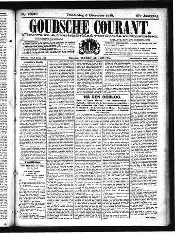 Goudsche Courant 1918-12-05