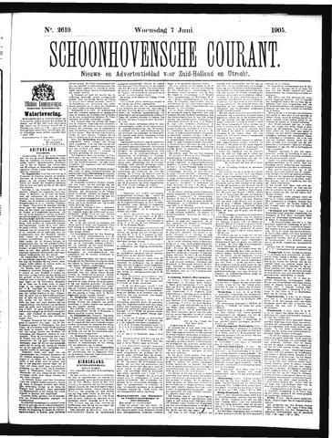 Schoonhovensche Courant 1905-06-07