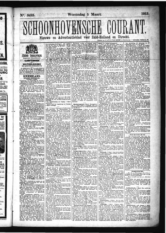Schoonhovensche Courant 1913-03-05