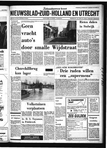 Schoonhovensche Courant 1977-02-23