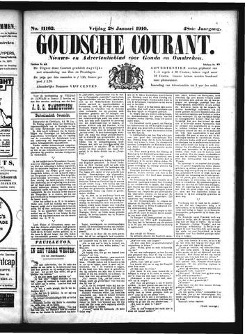 Goudsche Courant 1910-01-28