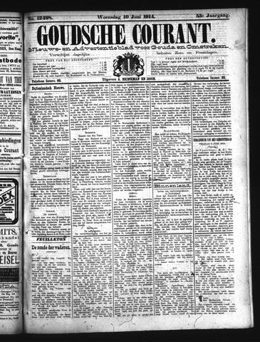 Goudsche Courant 1914-06-10