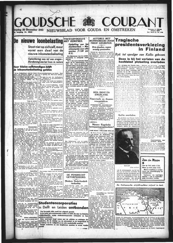 Goudsche Courant 1940-12-20