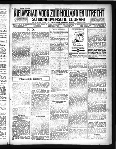 Schoonhovensche Courant 1935-01-30