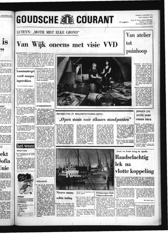 Goudsche Courant 1971-08-03