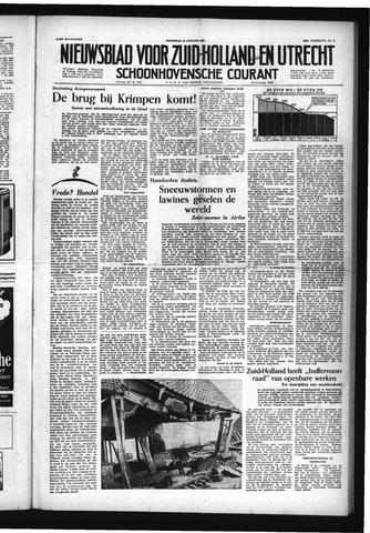 Schoonhovensche Courant 1954-01-13