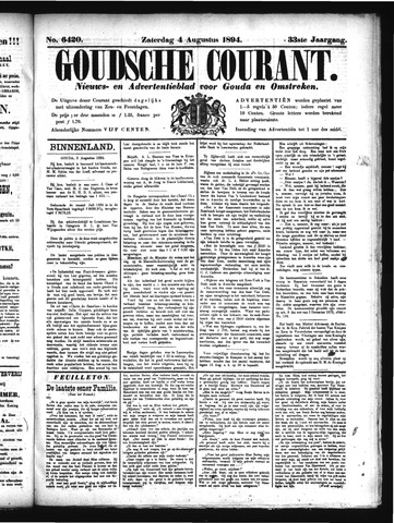 Goudsche Courant 1894-08-04