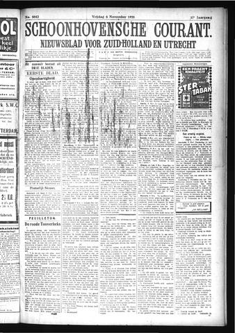 Schoonhovensche Courant 1925-11-06
