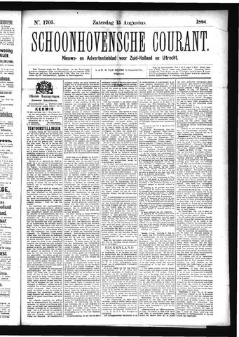 Schoonhovensche Courant 1896-08-15