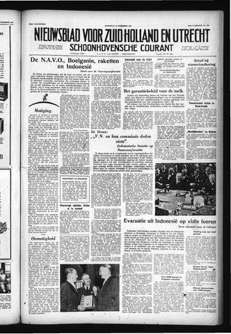 Schoonhovensche Courant 1957-12-18