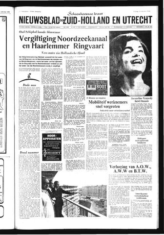 Schoonhovensche Courant 1968-10-18
