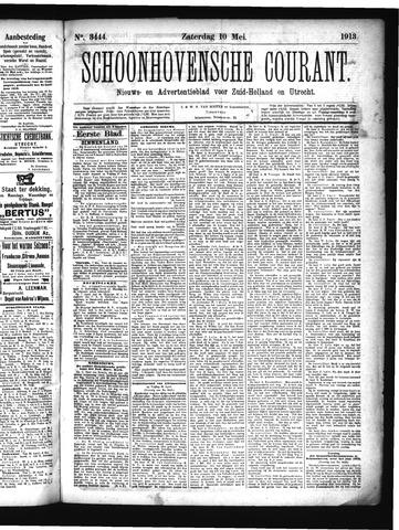 Schoonhovensche Courant 1913-05-10