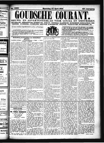 Goudsche Courant 1925-04-27