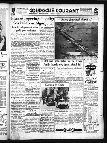 Goudsche Courant 1961-04-25