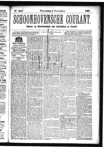 Schoonhovensche Courant 1899-11-08