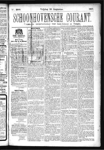 Schoonhovensche Courant 1917-08-10