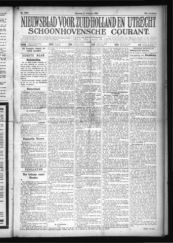 Schoonhovensche Courant 1928-02-13
