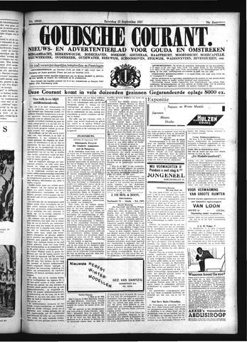 Goudsche Courant 1937-09-25