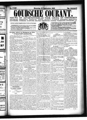 Goudsche Courant 1930-09-22