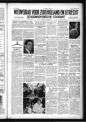Schoonhovensche Courant 1958-07-09