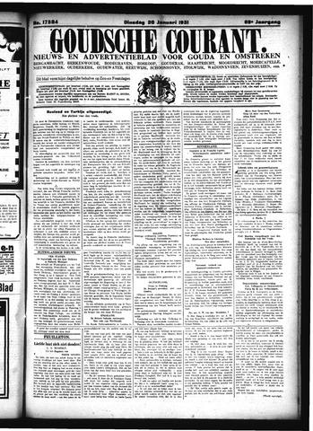Goudsche Courant 1931-01-20
