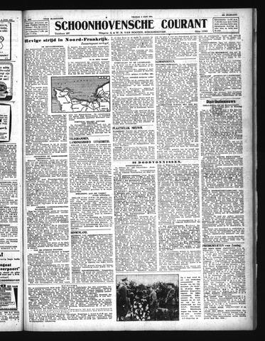 Schoonhovensche Courant 1944-06-09