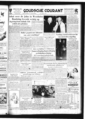 Goudsche Courant 1954-09-17